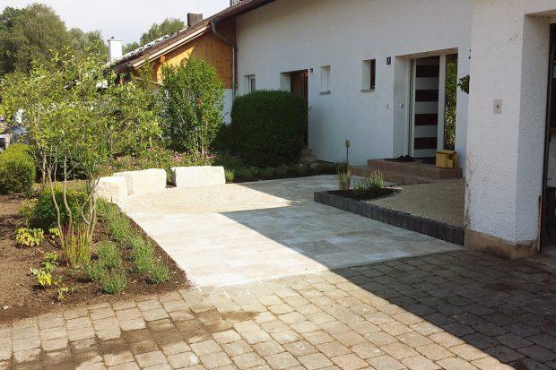 Umgestaltung Hauseingang _4